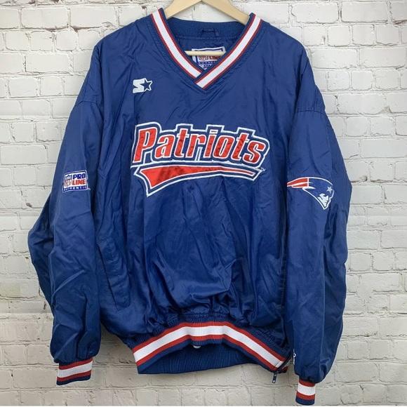 wholesale dealer a26df 5613a Vintage Starter New England Patriots Jacket